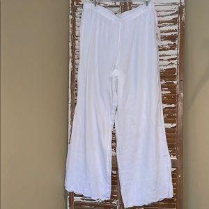 NWT Rachel Ashwell Linen Pants